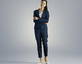 3D Woman Emily Business Standing 001