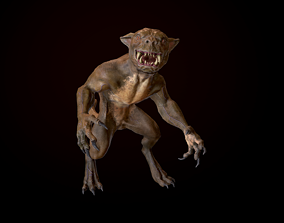 3D model animated Reptile
