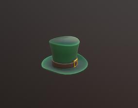 low poly Hat 3D model