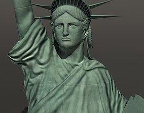3D asset Statue of Liberty