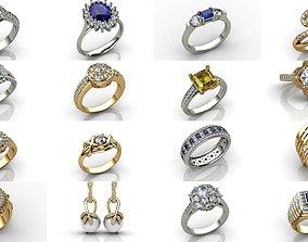 3D model Designer Jewellery Exclusive Collections N11