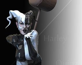 3D printable model clown Harley quinn