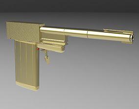 Golden Gun from James Bond 007 3D model veapon