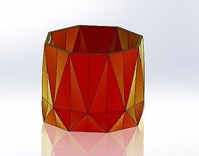 3D printable model Geometric Planter 6