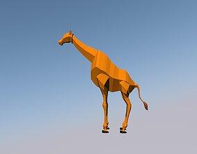3D model Zarafa animal