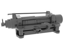 winch 3D model Winch