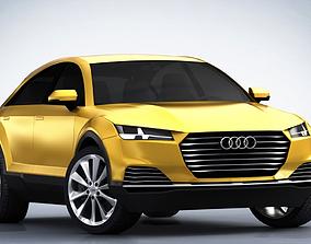 3D Audi Q4 SUV 2019