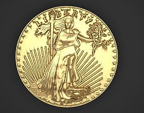 3D printable model American Gold Eagle