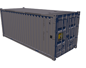 3D model Shipping Container industrial