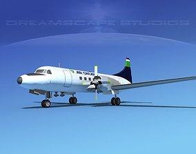 3D model Convair CV-580 Air Ontario