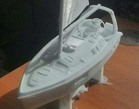 Hunter 410 yatch 3dprint ship