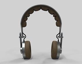 3D headphones metal bluetooth