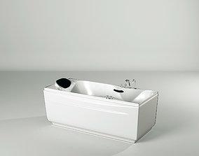 3D asset 12Dseries Famous brand sauna bath and steam 3