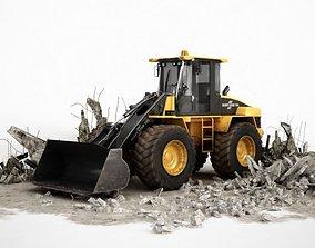 3D Heavy Duty Excavator