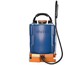 Shoulder Sanitizer Sprayer 3D model