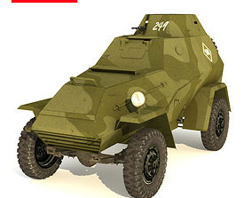 3D model BA 64 B SCOUT CAR
