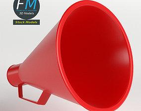 Acoustic megaphone 2 3D model