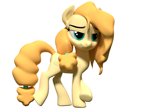 rigged Buttercup MLP Model