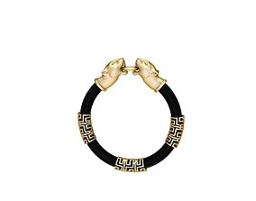 Panther bracelet 3D print model