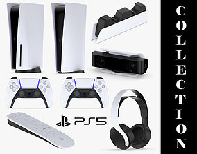 3D model Playstation PS5 Full Collection