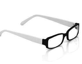 apparel Eyeglasses for Men and Women 3D print model