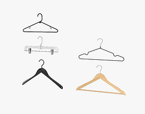 3D model Clothes Hangers Set