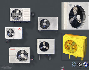 3D model Air conditioning PBR
