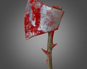 3D model Stylized War Ax