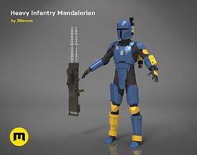3D print model Paz Vizla Heavy Infantry Mandalorian Bundle