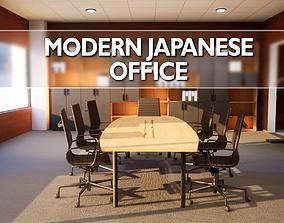 game-ready Modern Japanese Office Model Pack