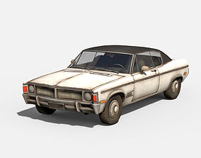 pack 3D model Old car