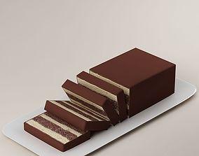 3D model anniversary Cake
