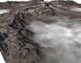 3D Snowy Valley MTH070