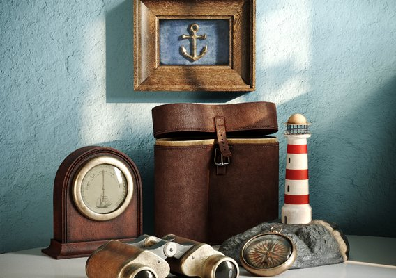 Still life in the marine style