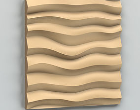 Wall Panel 002 3D model