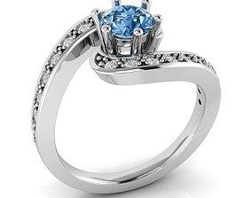 Tension engagement ring 3D print model