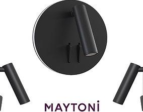 Sconce ios 176 C176-WL-01-6W-B Maytoni Modern 3D