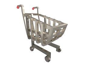 Shopping Cart v1 004 3D model