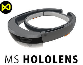 3D model Microsoft Hololens Headset