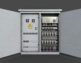 3D asset Electric Fuse Box