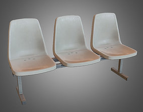Laundromat Chairs 2 - PBR Game Ready 3D model cryengine