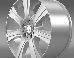 Mercedes Benz S 600 guard rim 3D model