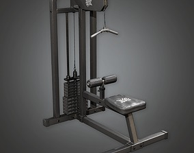 Weight Lifting 02a - Sports And Gym 3D asset