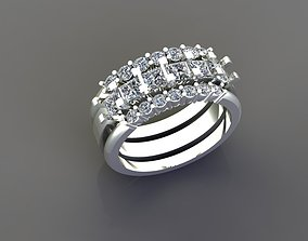 Brilliant ring 03 3D printable model