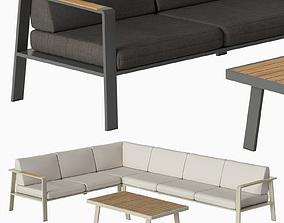 Corner sofa NOFI 3D