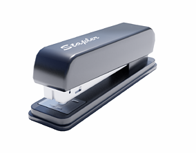 Low Poly Office Stapler 3D asset low-poly