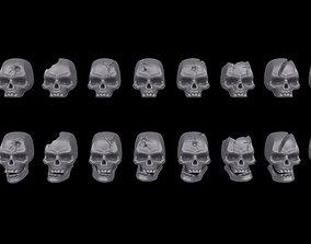 Warhammer 40K - Skull Set 3D printable model
