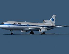 Lockheed L-1011-50 Pan American 3D model