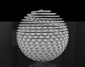 Christmas Ball Ornament 3D printable model