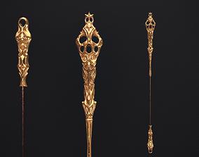 Medieval Scepter 3D model